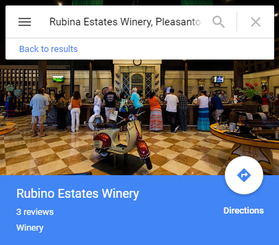 Rubina Estates Winery